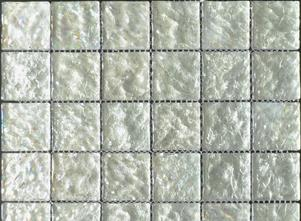 Shimmer Ice Glass Mosaic