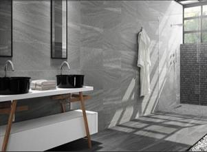 Falcon Grey Glazed Porcelain Wall And Floor Tiles