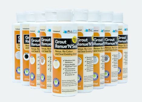 All For Stone Grout Renue 'n' Seal Black - 237mls