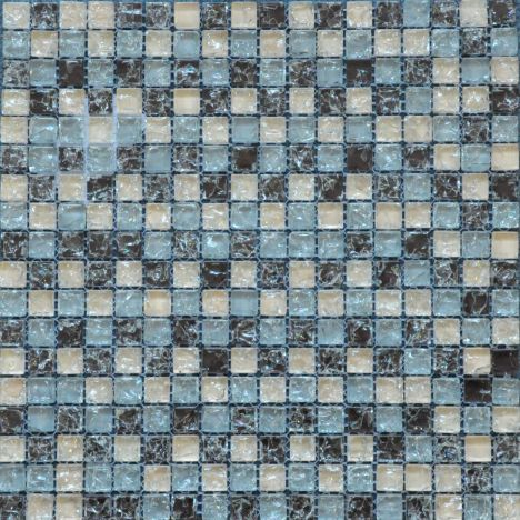 Skiathos Crackle Glass Mosaic