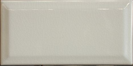 Kitchen Collection 200mm x 100mm KC97 Craquele Ivory Bevelled Wall Tiles