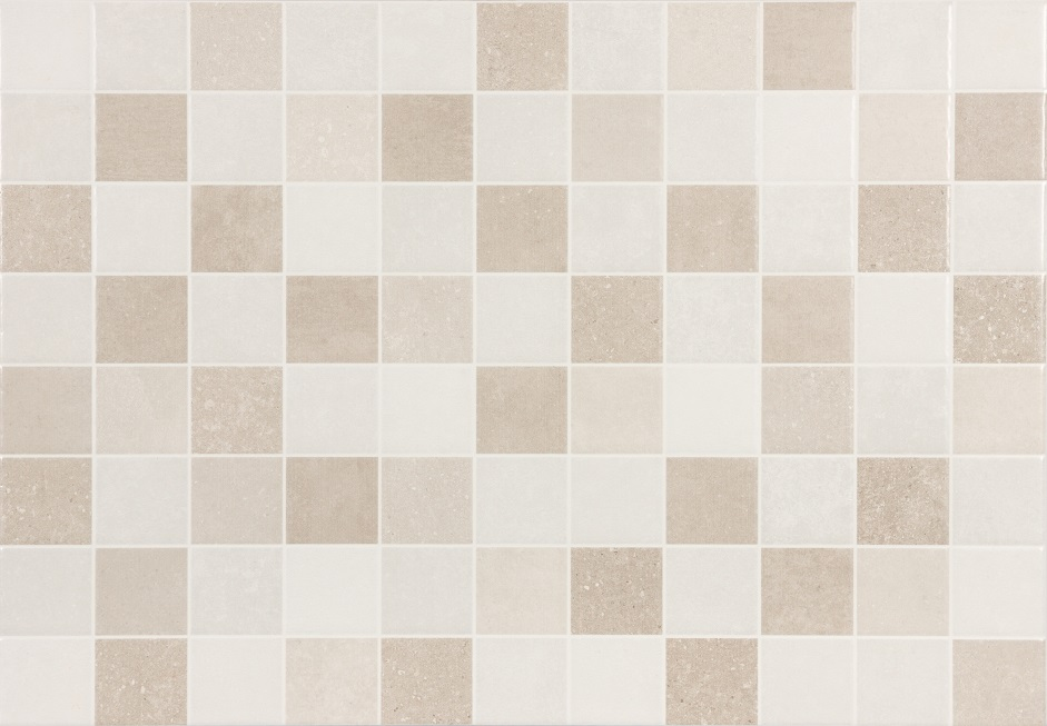 T4A Lakeland Beige Squares Decor 450mm x 316mm